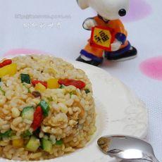发芽豆子糙米饭