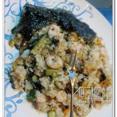 茄子虾仁炒饭
