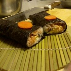 小紫鱼~~紫菜包饭