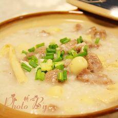 湘白莲鸭肉砂锅粥