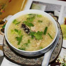 小麦胚芽鱼片粥