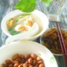 营养的潮汕砂锅鲜虾粥的做法