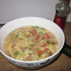 西红柿鸡蛋粥的做法