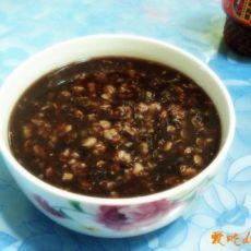 孕妈妈的家常饮食--紫米燕麦粥