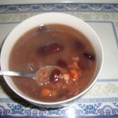 养生大枣豆子粥