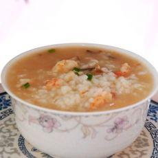 香菇鲜虾粥的做法