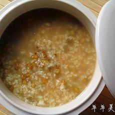 绿豆米粥的做法