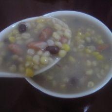 豆饭玉米碴子粥的做法