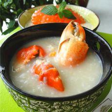 清甜肉蟹粥