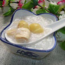广式美食――白果腐竹粥的做法
