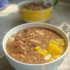红豆薏米芋头粥