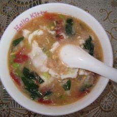 西红柿青菜粥