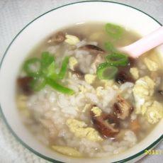 鸡丁香菇营养粥