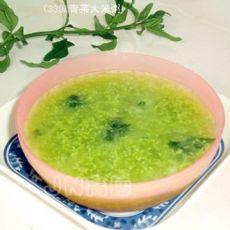 青菜大米粥
