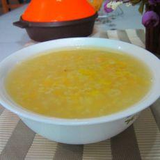 玉米糯米粥的做法