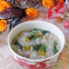 蒲公英花红豆糯米粥