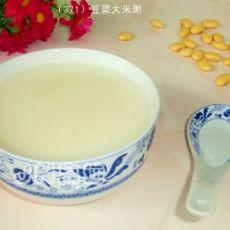 豆浆大米粥