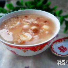 百合莲子绿豆粥