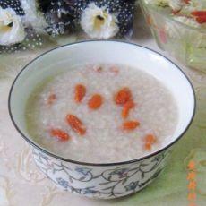 菊花枸杞糯米粥