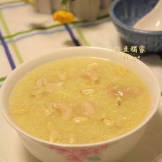 坚果小米粥