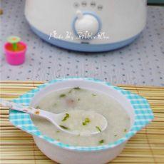 排骨青菜粥的做法