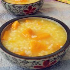 南瓜二米粥