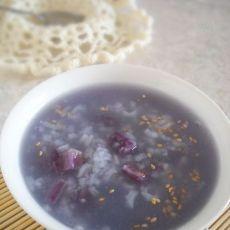 健康紫薯糙米粥