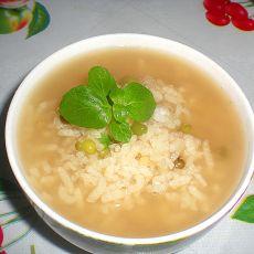 绿豆薄荷粥