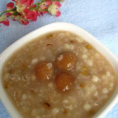 莲子绿豆粥的做法
