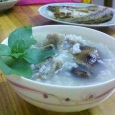 老豆的宵夜-香菇排骨粥
