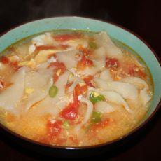 西红柿面片汤