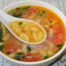 珍珠疙瘩汤