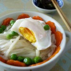 营养早餐---时蔬蛋面