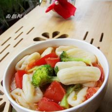 蔬菜贝壳面