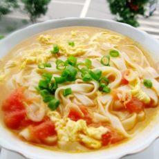西红柿鸡蛋手擀汤面的做法