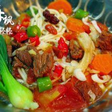 西红柿牛肉面