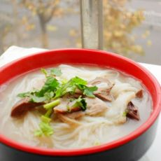 羊肉汤面条