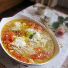 炝锅西红柿鸡蛋面的做法