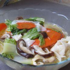 白菜香菇面