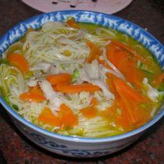胡萝卜汤面