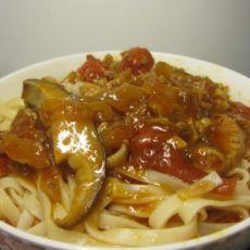 茄汁肉酱面的做法