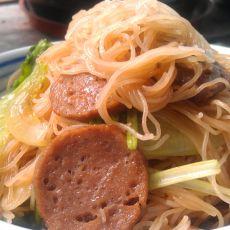 牛肉丸炒米粉