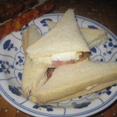 三明治鸡肉串