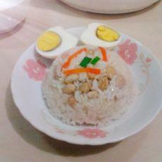 鸡蛋花生糯米粉