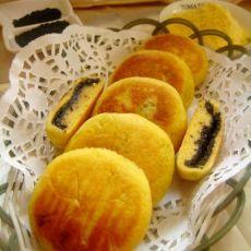 麻香玉米饼