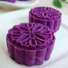 紫薯芸豆月饼的做法