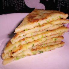 西葫芦香葱鸡蛋饼