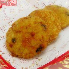 花样米饭炸米饼的做法