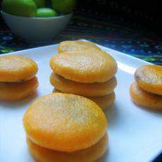 健康无油的南瓜饼