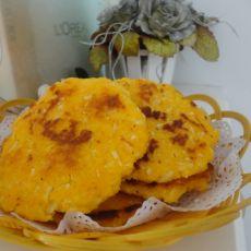 萝卜丝虾皮玉米饼